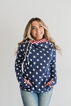 DoubleHood™ Sweatshirt - Stars & Stripes